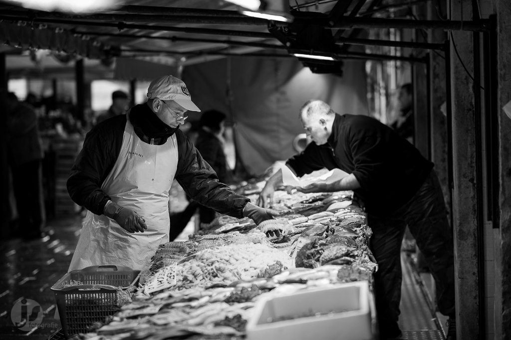People of venice - Rialto Fish Market